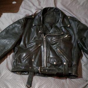Antique Harley leather jacket